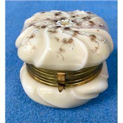 Victorian Wave Crest Jewelry Dresser Box