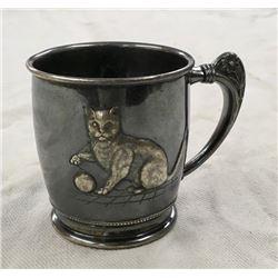 Unusual Victorian Silver Cup