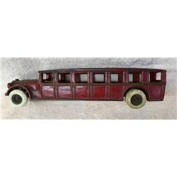 Original Large Cast Iron Buss With Driver