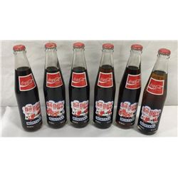 6pc Collection Of Advertising Coke Bottles.