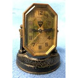 Small Advertising Clock By Waterbury Clock Co