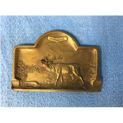 Elk Advertising Green River Bronze Tray