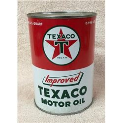 Texaco Quart Oil Can
