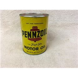 Pennzoil Quart Oil Can.