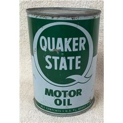 Quaker State Quart Oil Can
