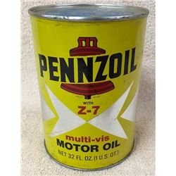 Pennzoil Quart Oil Can