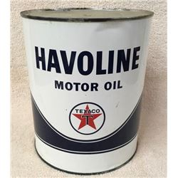 Havoline Gallon Oil Can