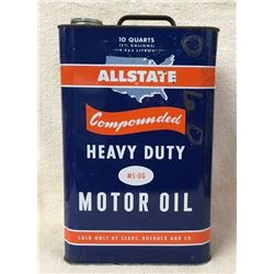 Allstate 2 1/2 Gallons Oil Can