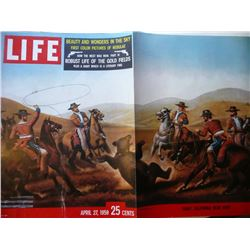 6 Volume Set Of Life Magazine 1959
