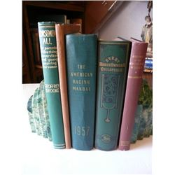 5 Volumes Of Horse Related Books