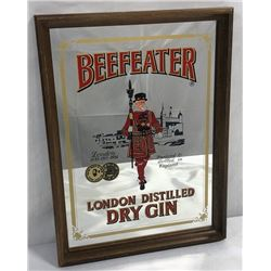 Vintage Beefeater Dry Gin Tavern Mirror