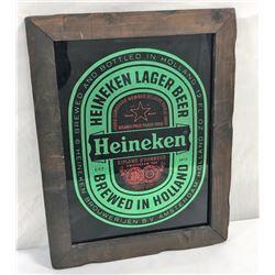 Vintage Heineken Tavern Mirror