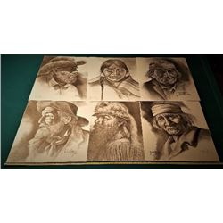 6 Noberto Reyes Artist Proof Prints