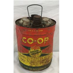 Farmers Union Co-op 5 Gal Oil Can