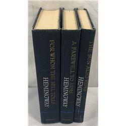 (3) Hemingway Books