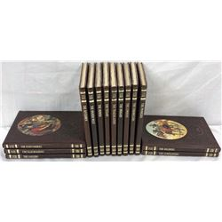 "Time Life ""the Old West"" Leather Bound Books 14pcs"