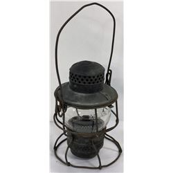 Railroad Lantern Marked N K P