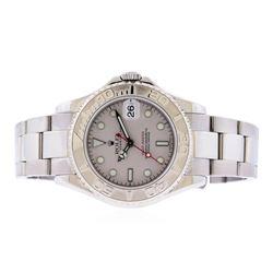 Rolex Stainless Steel Yacht-Master Watch