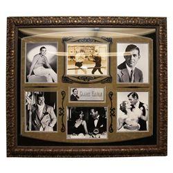 Clark Gable Autographed Collage