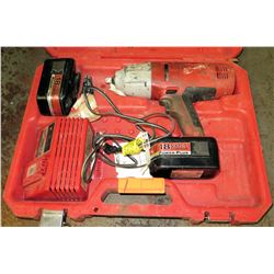 Milwaukee Impact Wrench Model 9079-20 and 9.6V-16V Universal Charger