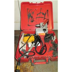 """Milwaukee 1675-1 1/2"""" Hole Hawg Drill (Powers On - See Video)"""