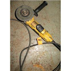 DeWalt E4012 4.5  Electric Grinder (Powers On - See Video)