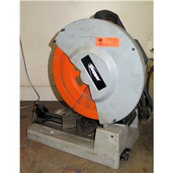 """Slugger 14"""" Metal Cutting Saw (Powers On - See Video)"""