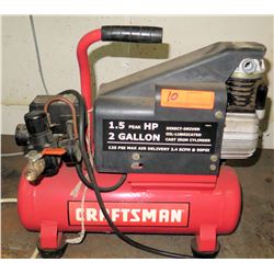 Craftsman 2 Gallon Air Compressor (Powers On - See Video)
