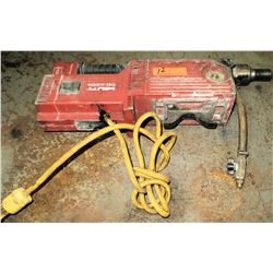 Hilti DD250-E Diamond Drilling Core Drill 110 Volt (Powers On - See Video)