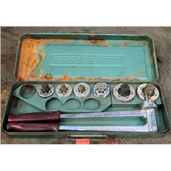 Rothenberger Cone Bit Unidrill Set