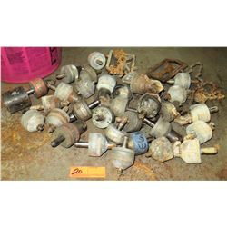 Large Lot of T Drill Bits