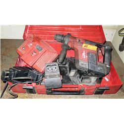 Hilti TE 5-A Rotary Hammer Drill w/Case & Battery Charger