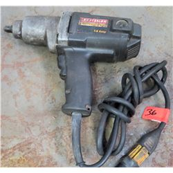 "Craftsman 1/2"" Impact Wrench SSR (Powers On - See Video)"