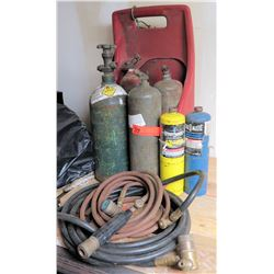 Welding Tanks and Hoses