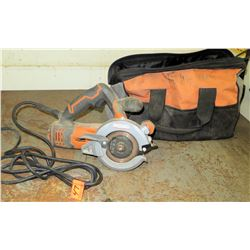 "Ridgid 5"" Twin Blade Circular Saw Model R3250 (Powers On - See Video)"