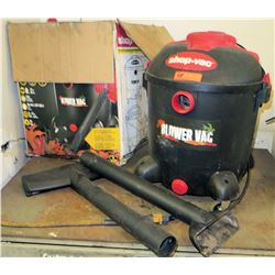 Shop Vac 12 Gallon Vacuum with Attachments (Powers On - See Video)