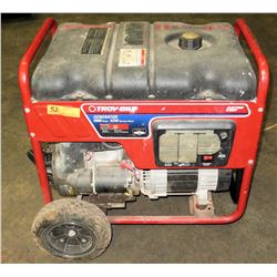 Troy Bilt 5000 Watt Generator (Powers On - See Video)