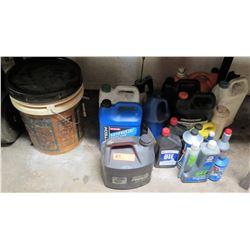 Various Auto/Machine Oils and Fluids