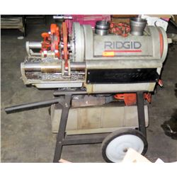 Ridgid 1224 Threading Machine- Powers On