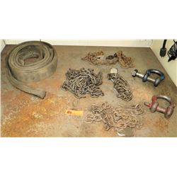 Various Chains, Straps, Shackles