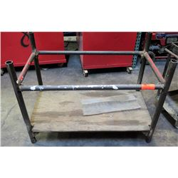 Rectangular Shop Pipe Rack