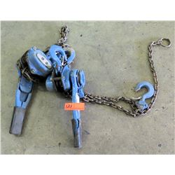 Qty 2 Chain Hoists