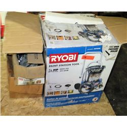 Ryobi Paint Station Tool & Box of Simpson Strong T's