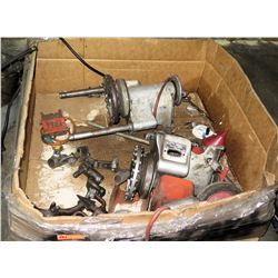 Contents of Pallet: Ridgid Pipe Threader/Cutter?