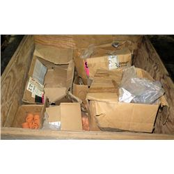 Boxes of Misc Orange Couplings, Connectors, T's
