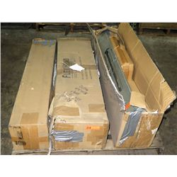 Contents of Pallet: Metal Stakes