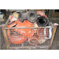 Crate Large Metal Elbows and Clamps
