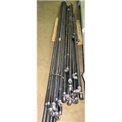 Pipes: Black Test Pressure 1200 with Elbows, Various Lengths