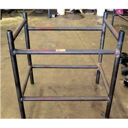 "Metal Utility Pipe Rack (40"" x 28"" x 38"" H)"