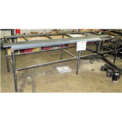 "Utility Work Table/Pipe Rack 121"" x 34"""